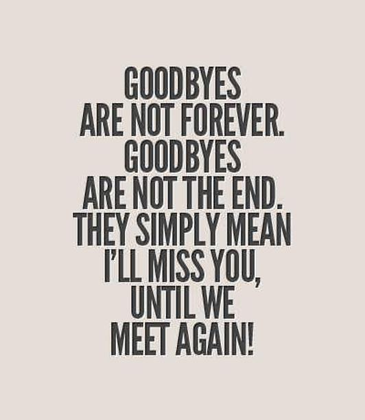 Until we meet again