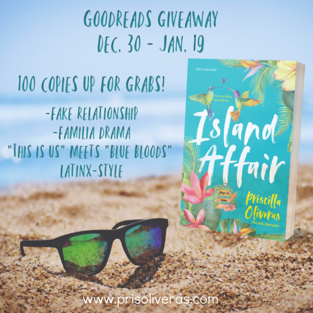 IA Goodreads Giveaway