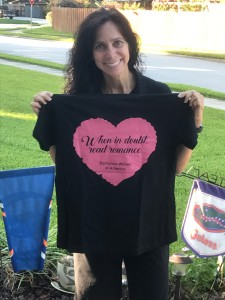 When in doubt, read romance...#RWA17 conference shirt